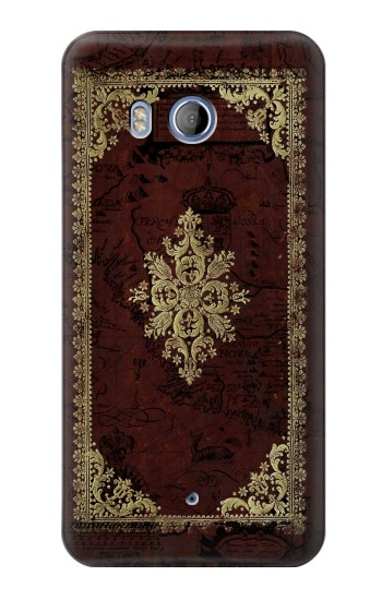 Printed Vintage Map Book Cover HTC Desire 530 Case