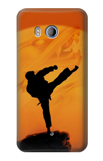 Printed Kung Fu Karate Fighter HTC Desire 530 Case