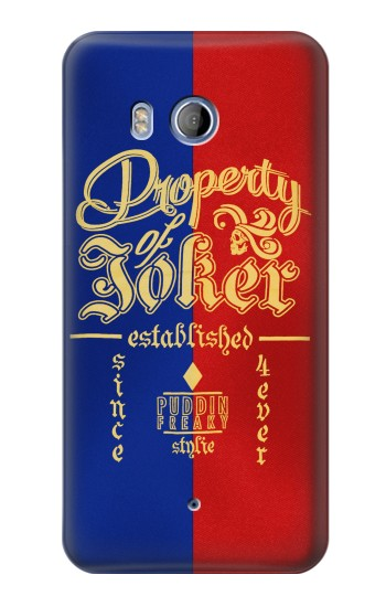 Printed Property of Joker Puddin Freaky Style HTC Desire 530 Case