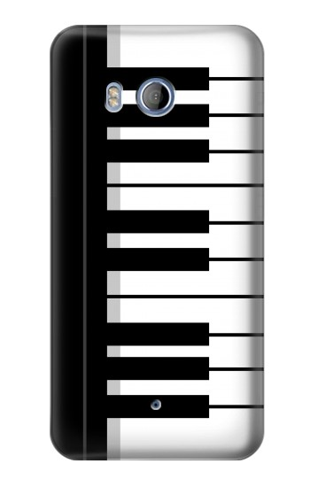 Printed Black and White Piano Keyboard HTC Desire 530 Case