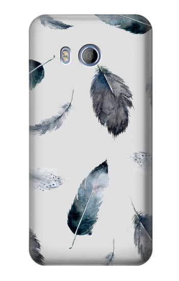 Printed Feather Paint Pattern HTC Desire 530 Case