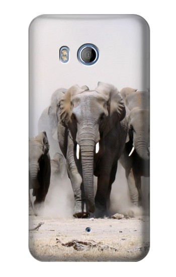 Printed African Elephant HTC Desire 530 Case