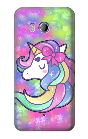 Printed Pastel Unicorn HTC Desire 530 Case