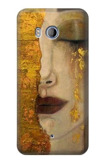Printed Gustav Klimt Golden Tears HTC Desire 530 Case