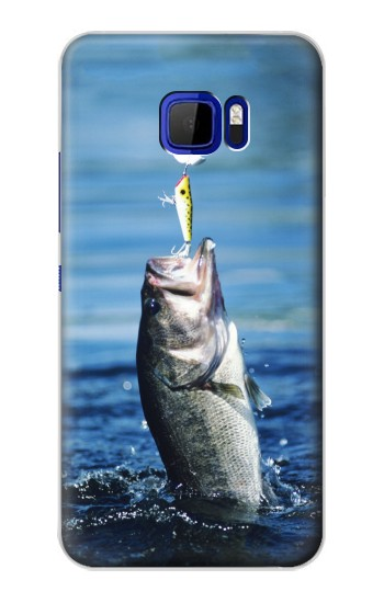 Printed Bass Fishing HTC Desire 616 dual sim Case