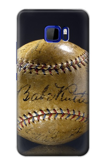 Printed Babe Ruth Baseball Autographed HTC Desire 616 dual sim Case