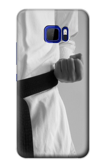 Printed Black Belt Karate HTC Desire 616 dual sim Case