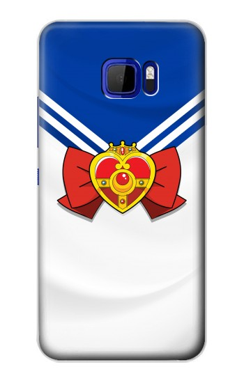 Printed Sailor Moon Brooch and Bow HTC Desire 616 dual sim Case