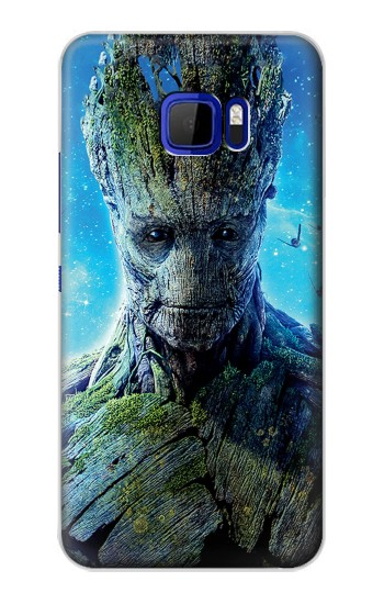 Printed Groot Guardians of the Galaxy HTC Desire 616 dual sim Case