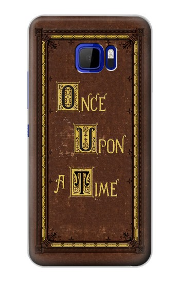 Printed Once Upon a Time Book Cover HTC Desire 616 dual sim Case