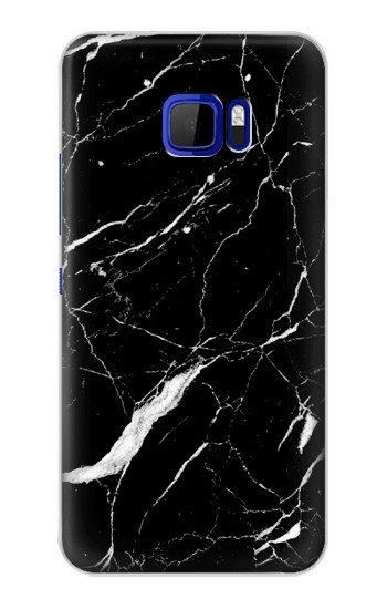 Printed Black Marble Graphic Printed HTC Desire 616 dual sim Case