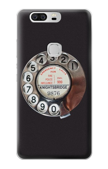 Printed Retro Rotary Phone Dial On Huawei Ascend G6 Case