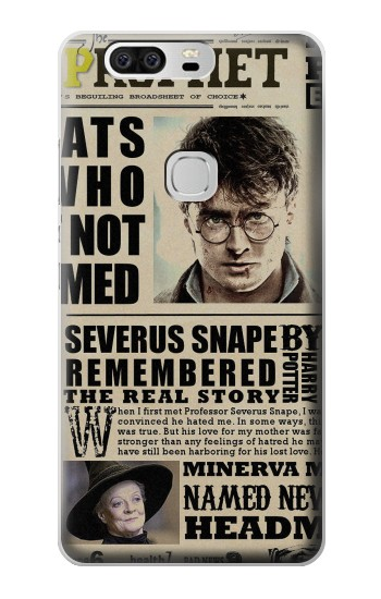 Printed Harry Potter Daily Prophet Huawei Ascend G6 Case