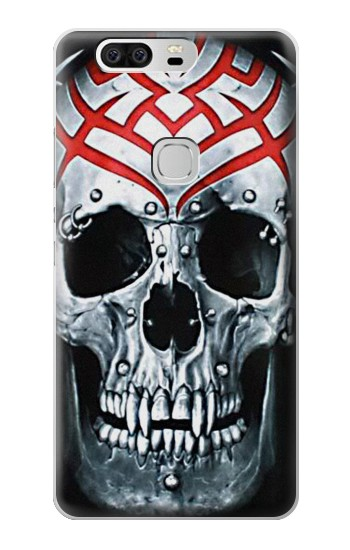 Printed Vampire Skull Tattoo Huawei Ascend G6 Case