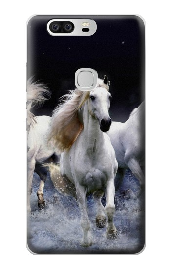 Printed White Horse Huawei Ascend G6 Case