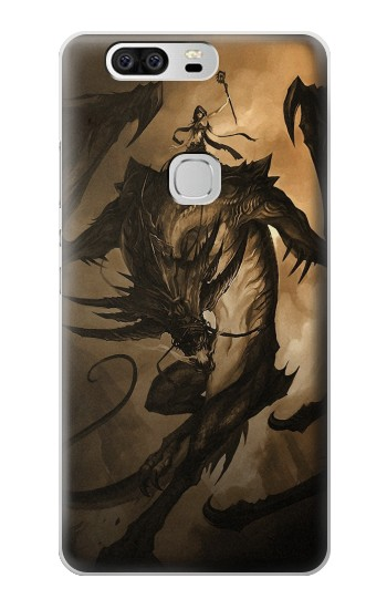 Printed Dragon Rider Huawei Ascend G6 Case
