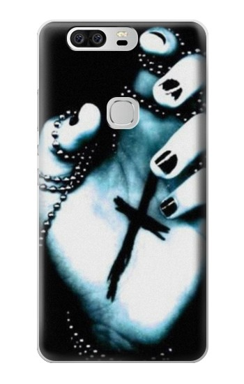 Printed Dark Gothic Cross Hand Huawei Ascend G6 Case