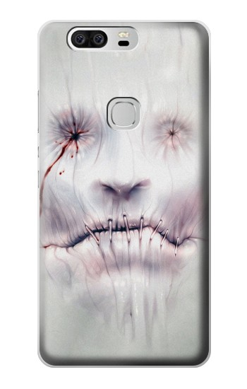 Printed Horror Face Huawei Ascend G6 Case