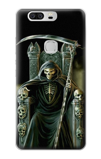 Printed Grim Reaper Skeleton King Huawei Ascend G6 Case