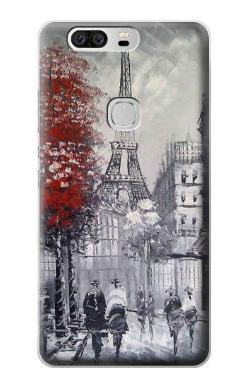 Printed Eiffel Painting of Paris Huawei Ascend G6 Case