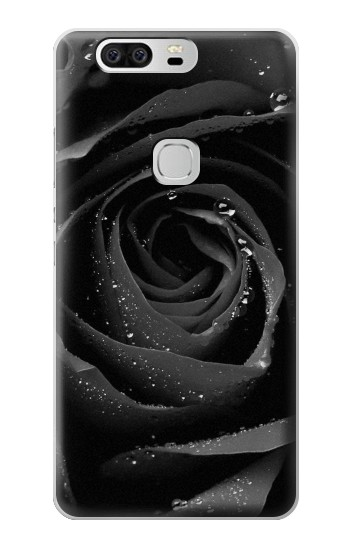 Printed Black Rose Huawei Ascend G6 Case