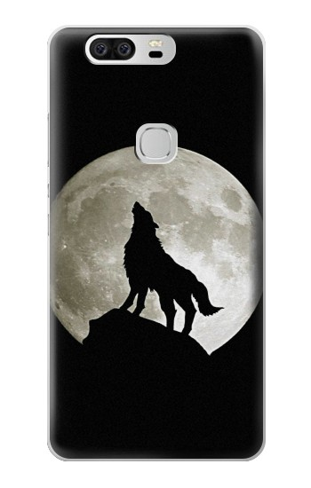 Printed Wolf Howling at The Moon Huawei Ascend G6 Case