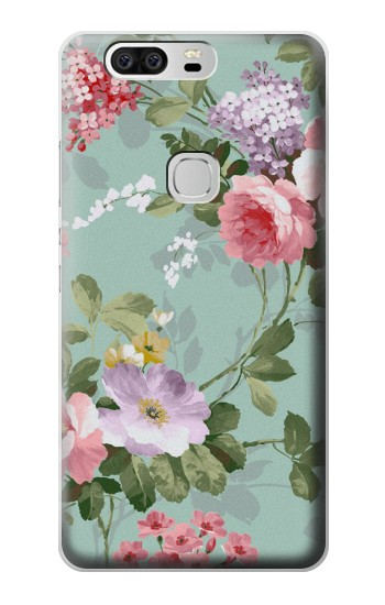 Printed Flower Floral Art Painting Huawei Ascend G6 Case