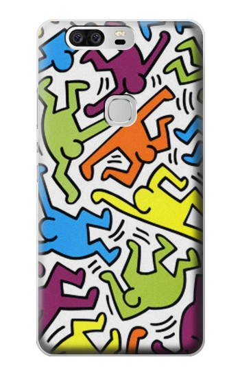 Printed Keith Haring Huawei Ascend G6 Case