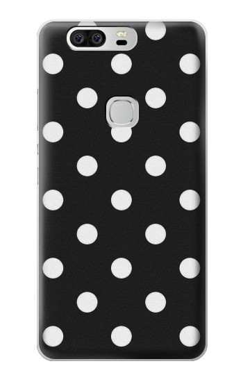 Printed Black Polka Dots Huawei Ascend G6 Case