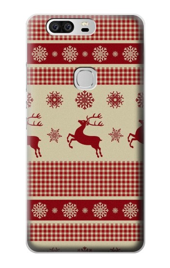 Printed Christmas Snow Reindeers Huawei Ascend G6 Case
