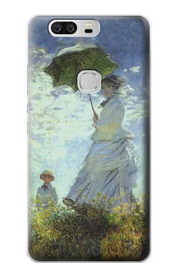 Printed Claude Monet Woman with a Parasol Huawei Ascend G6 Case