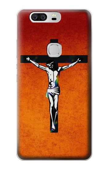 Printed Jesus Christ On The Cross Huawei Ascend G6 Case