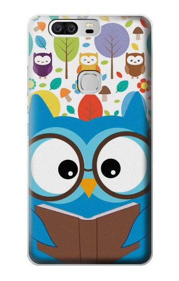 Printed Cute Owl Cartoon Huawei Ascend G6 Case