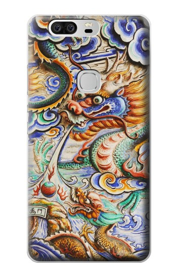 Printed Traditional Chinese Dragon Art Huawei Ascend G6 Case