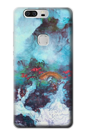 Printed White Dragon Pool Lui Haisu Huawei Ascend G6 Case