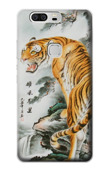 Printed Chinese Tiger Painting Tattoo Huawei Ascend G6 Case