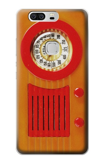 Printed Vintage Bakelite Radio Orange Huawei Ascend G6 Case