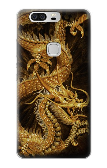 Printed Chinese Gold Dragon Printed Huawei Ascend G6 Case