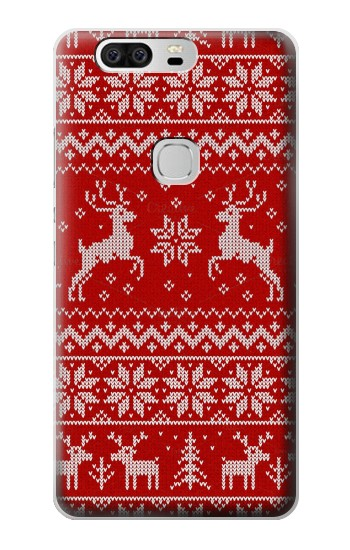 Printed Christmas Reindeer Knitted Pattern Huawei Ascend G6 Case