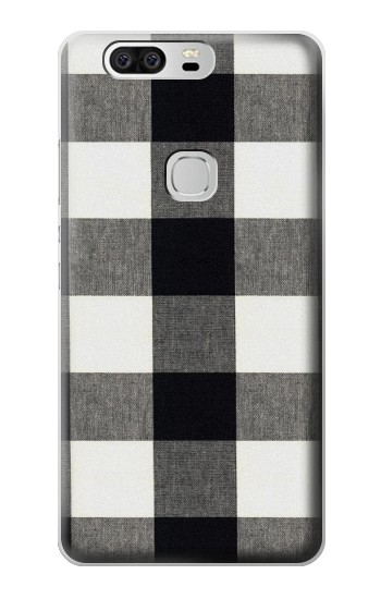 Printed Black and White Buffalo Check Pattern Huawei Ascend G6 Case