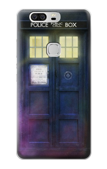 Printed Tardis Phone Box Huawei Ascend G6 Case