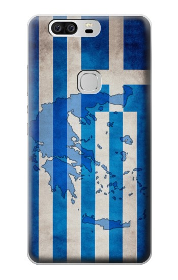 Printed Greece Map Flag Huawei Ascend G6 Case