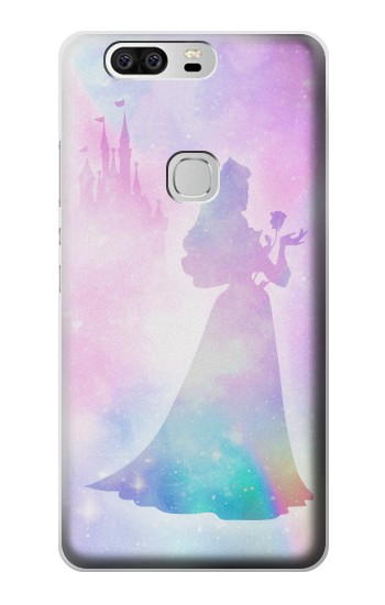 Printed Princess Pastel Silhouette Huawei Ascend G6 Case