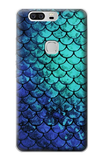 Printed Green Mermaid Fish Scale Huawei Ascend G6 Case