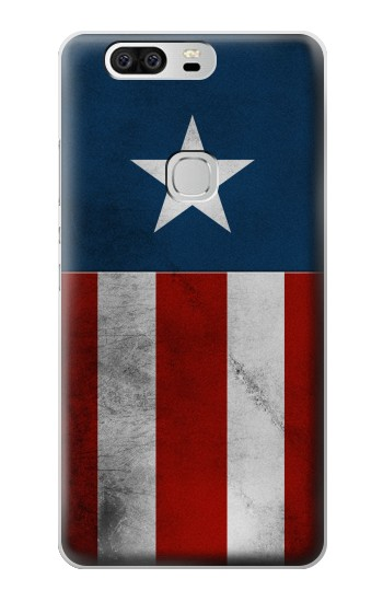 Printed Captain Star Flag of America Huawei Ascend G6 Case