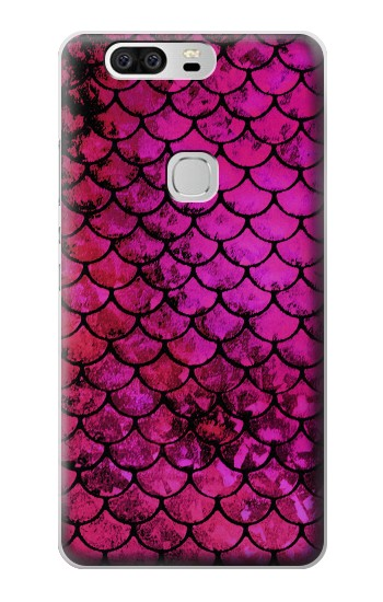 Printed Pink Mermaid Fish Scale Huawei Ascend G6 Case