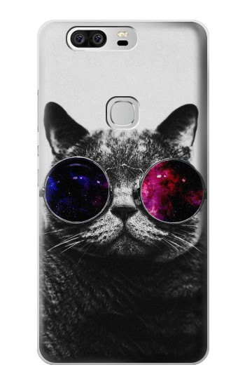 Printed Cool Cat Glasses Huawei Ascend G6 Case