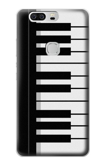 Printed Black and White Piano Keyboard Huawei Ascend G6 Case