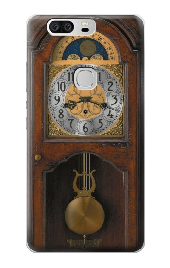 Printed Grandfather Clock Antique Wall Clock Huawei Ascend G6 Case