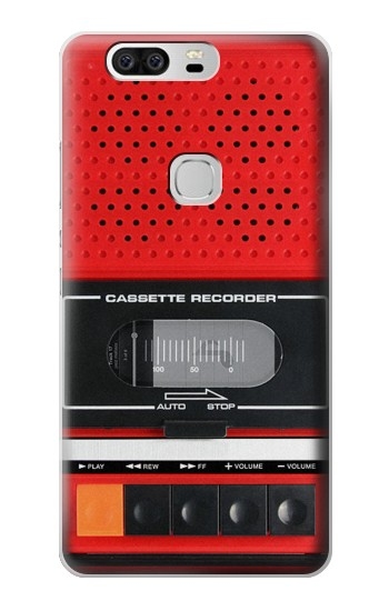 Printed Red Cassette Recorder Graphic Huawei Ascend G6 Case